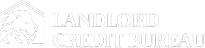 Landlord Credit Bureau White Logo